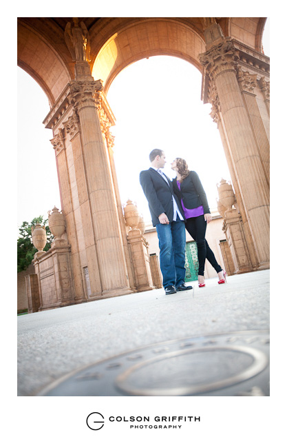 16 San Francisco Palace of Fine Arts Engagement Session JJ Johnna and Justins Engagement Session at Lovers Lane and The Palace of Fine Arts in San Francisco