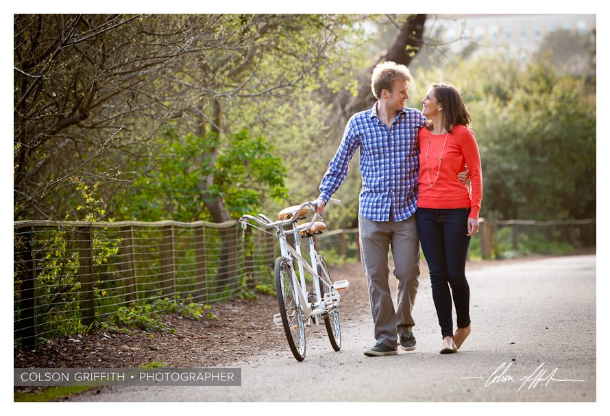 09 San Francisco Presidio Tandem Bike Engagement RB Rachel and Brandons Engagement Session   A Tandem Bike in San Franciscos Presidio