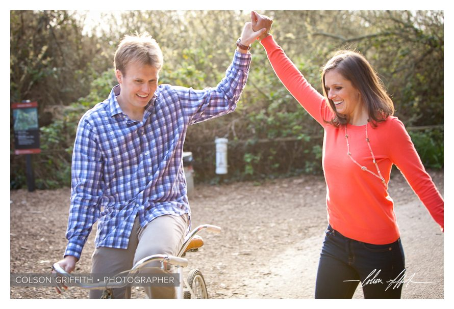 13 San Francisco Presidio Engagement RB Rachel and Brandons Engagement Session   A Tandem Bike in San Franciscos Presidio