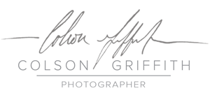 Colson Griffith Photography Blog logo